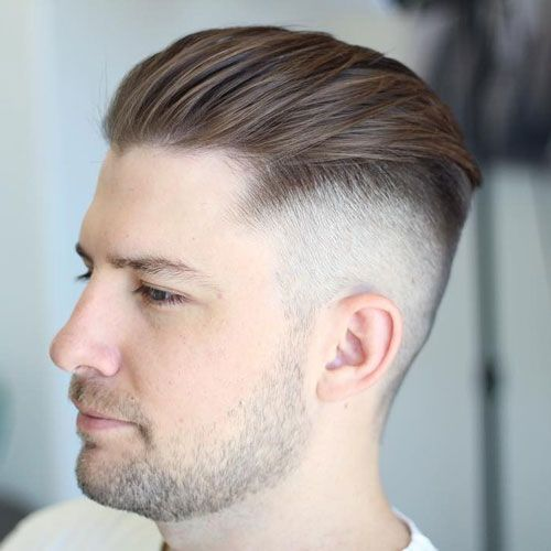 Tape up haircut tape haircuts and pompadour bald tape up with textured slick back urmus Image collections