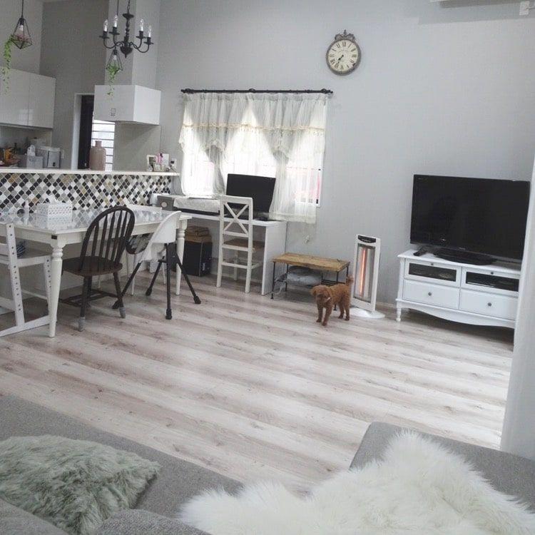 我が家の床材の種類 リクシルdフロアの金額もご紹介します 永遠の