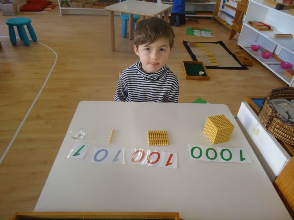 Montessori Materials Explained Golden Beads