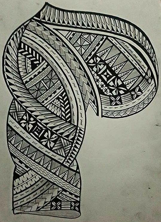 Polynesian Tattoos Book Polynesiantattoos Maori Tattoo Tribal Shoulder Tattoos Tribal Tattoos
