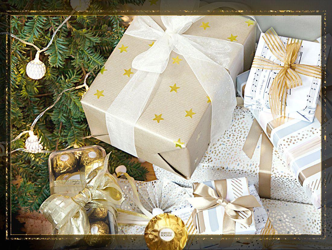 Clio] Ornez vos cadeaux de Noël avec des rubans scintillants pour ...
