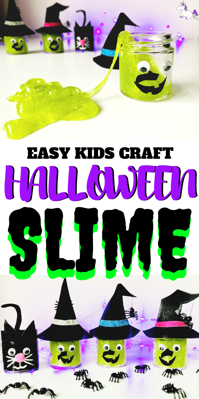 3 Easy Diy Storage Ideas For Small Kitchen: Halloween Slime - Easy 3 Ingredient Slime