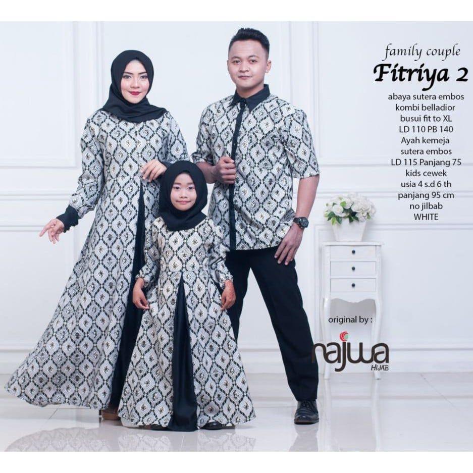 Model Batik Couple Ayah Ibu Dan Anak  Emboss, Anak, Model
