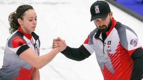 Canada beats Scotland in world mixed doubles curling playoffs