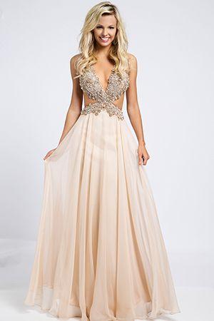 Chiffon Side Cutout Dress 98123 | Everything Prom | Pinterest | Prom ...