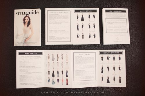 Glamour Guide Templates for Welcome Packets (Windows Version) - guide templates