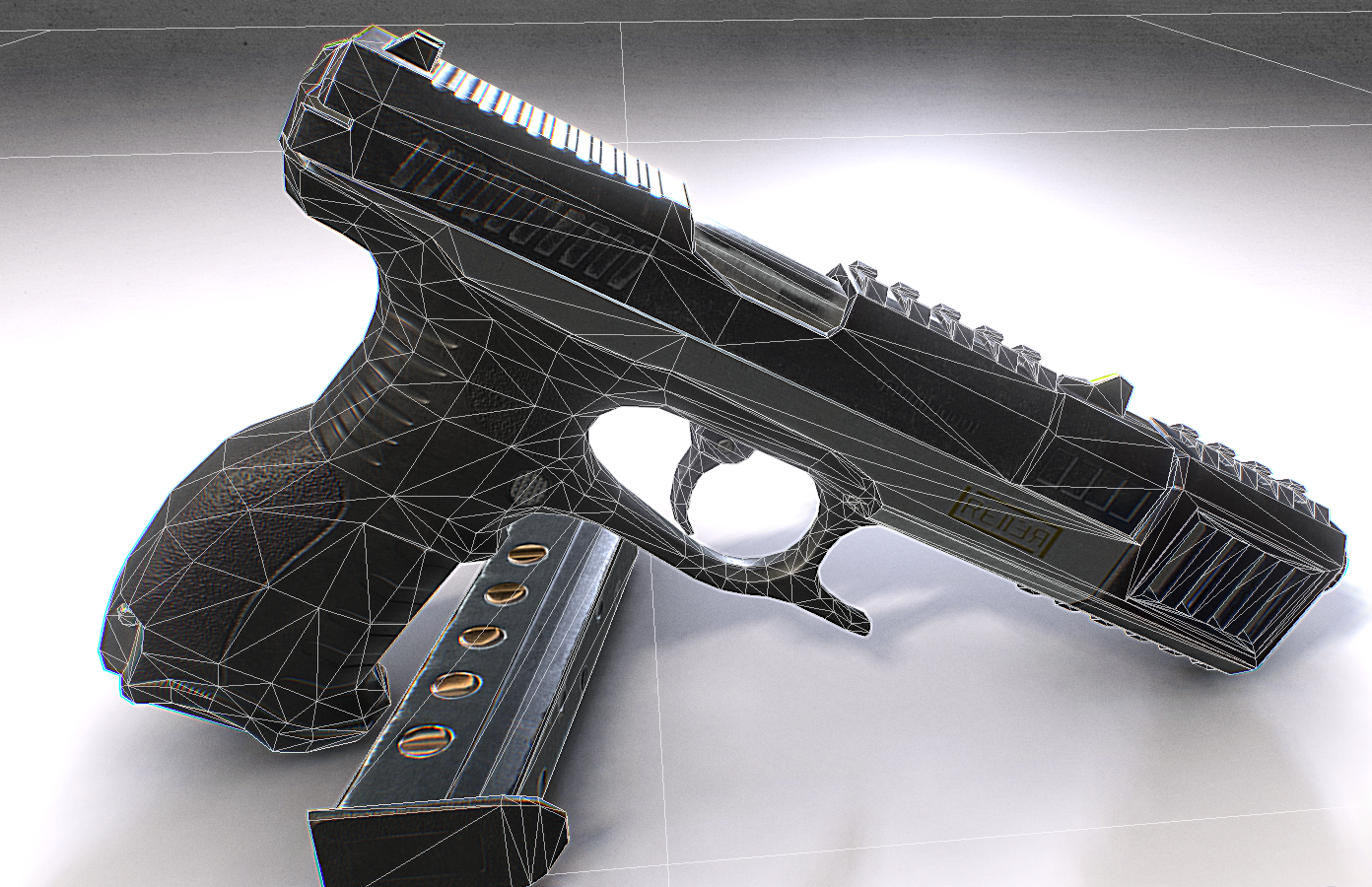 9mm Pistol Model By: Slava Zemlyanik Free Download This file