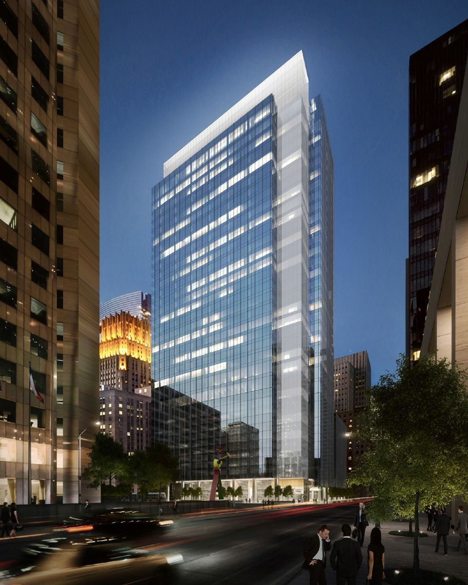 Capitol Tower Downtown Rendering01 Hotel Architecture Tower Light Architecture