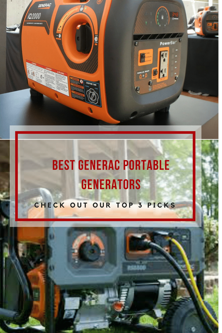 searching for a home backup generator to use on a campsite or a jobsite check the top 3 generac portable generators we recommend via powertoolsninja [ 735 x 1102 Pixel ]