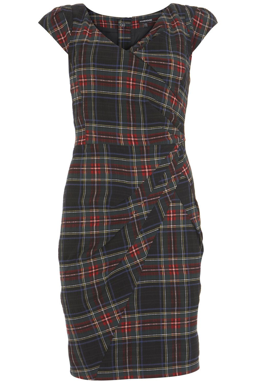 Like The Sheath Drape Alady Still Kicking Myself For Not Buying This One Hopefully Will Catch It Second Hand On Ebay On Tartan Dress Tartan Fashion Clothes