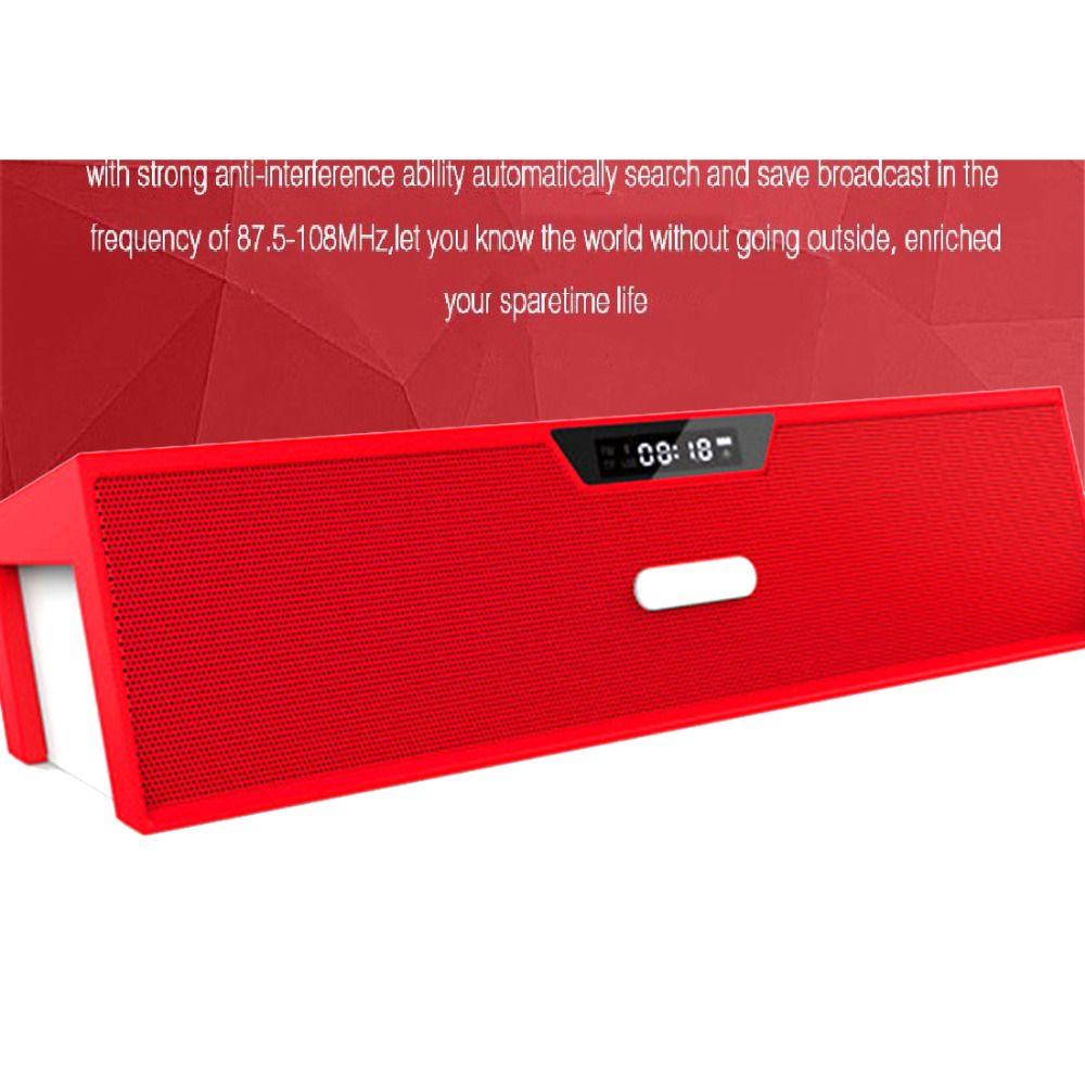 >> Click to Buy << Best Altavoz Bluetooth Speaker Wireless HIFI Portable Speaker High Quality Music Surround Sound Box with FM Radio Black&Red #Affiliate
