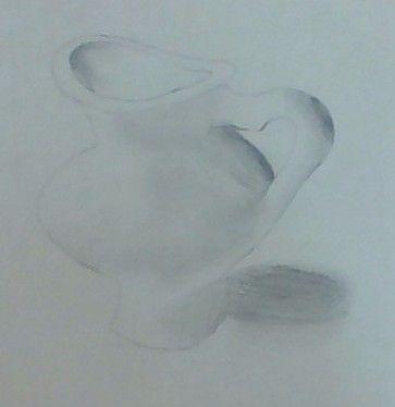 Beginning Of Shading Of Vase Drawings Pinterest Vase