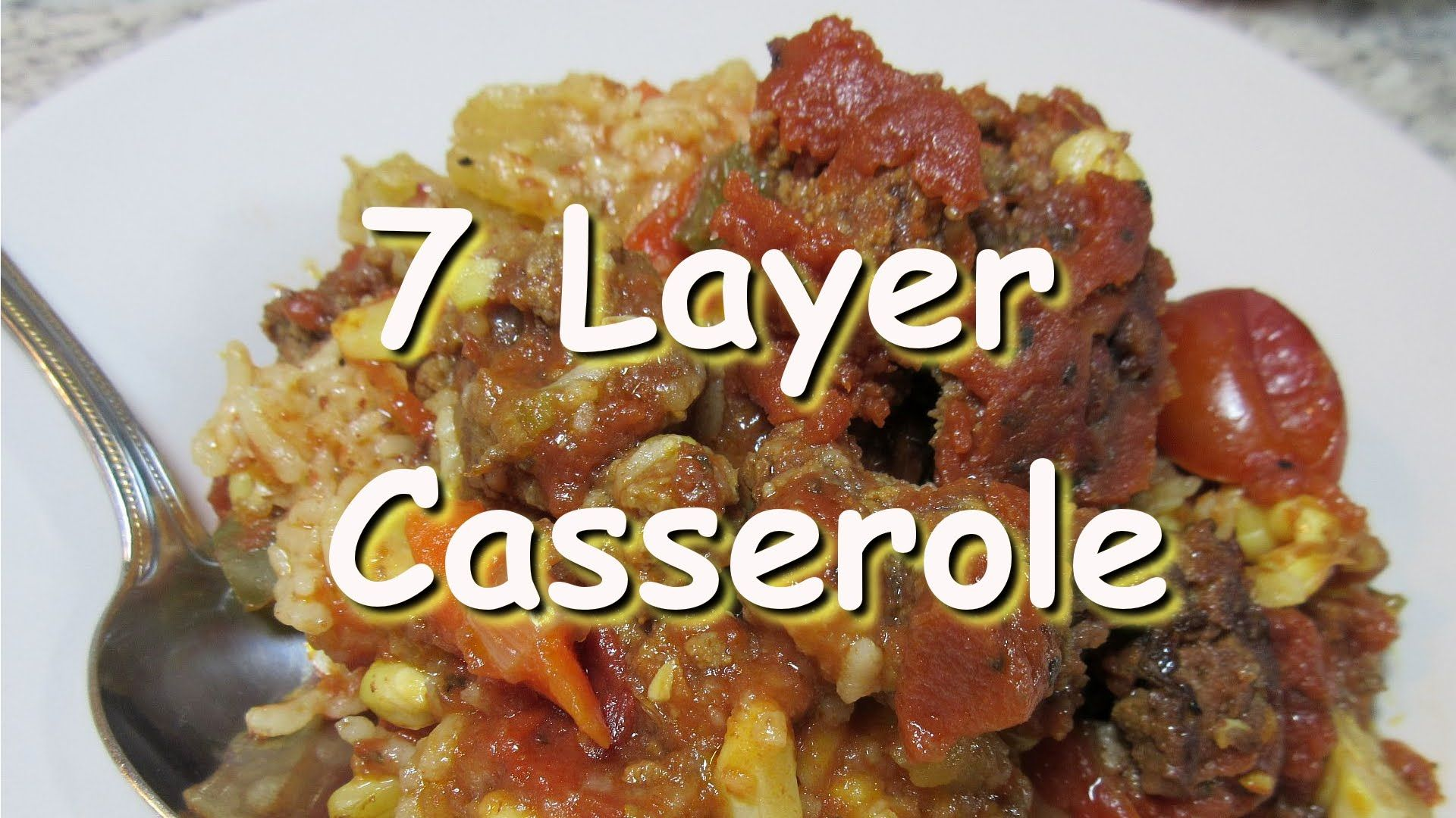 Seven layer casserole slow cooker recipe the dinner tag my fave food forumfinder Images