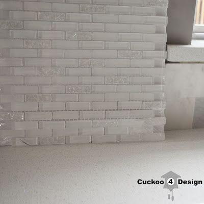 In love! GBI Tile & Stone Inc. 12-in x 12-in Gemstone White Glass ...