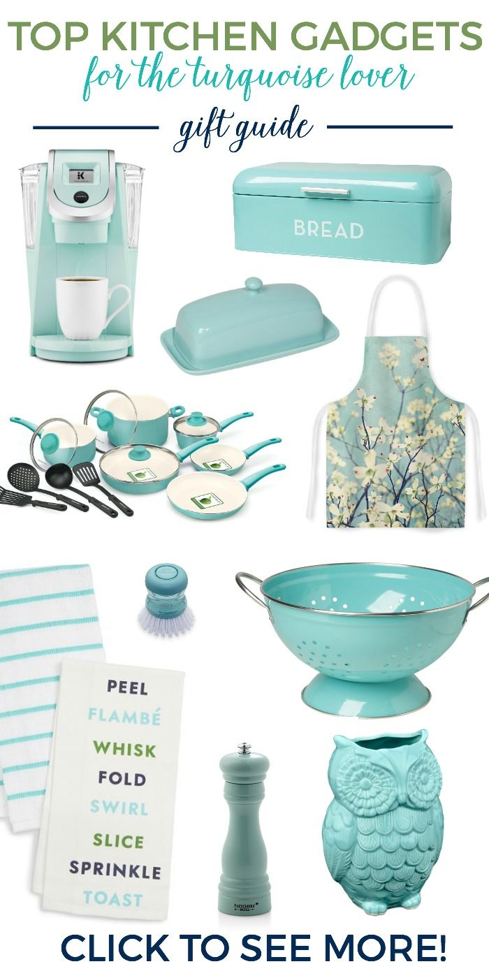 Top 11 Kitchen Turquoise Gifts for the Cook  Turquoise kitchen