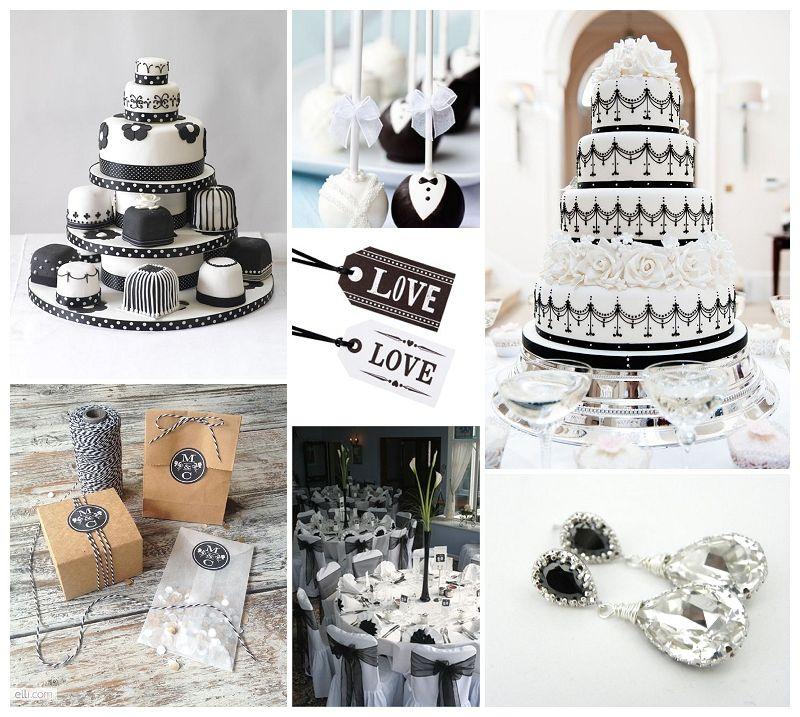 Monochrome Wedding Theme Wedding Day Pinterest Wedding Themes