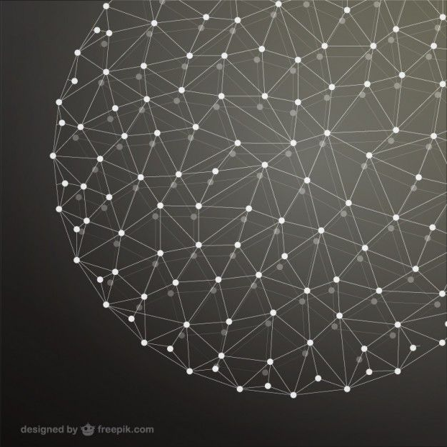 Download Sphere Network Background for free