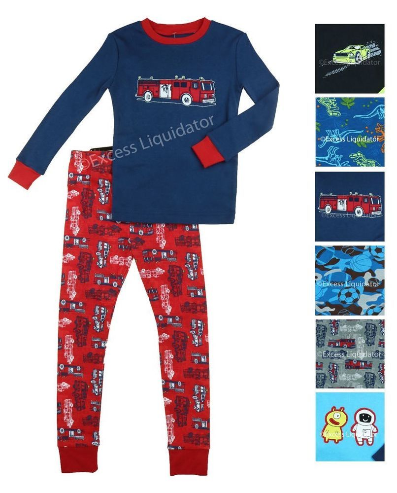 Kirkland Signature Boys 2-Piece Organic Cotton Pajama Set Size 10  fashion   clothing  shoes  accessories  kidsclothingshoesaccs  boysclothingsizes4up  (ebay ... dd6bfdb95