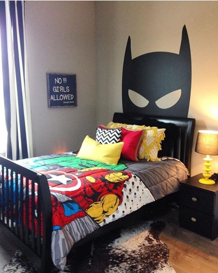 Bedrooms Superhero room Tagged to us by