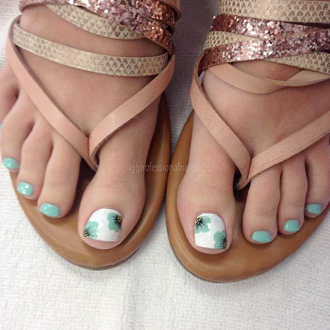27 Beautiful Nail Designs for Toes | Beautiful nail designs ...