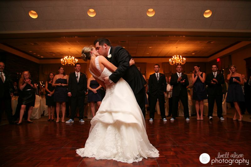 First Dance At Sky Meadow Country Club Wedding Reception