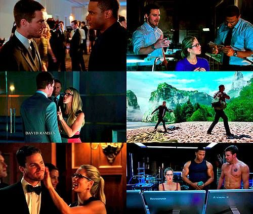 Arrow - Oliver, Felicity & Diggle