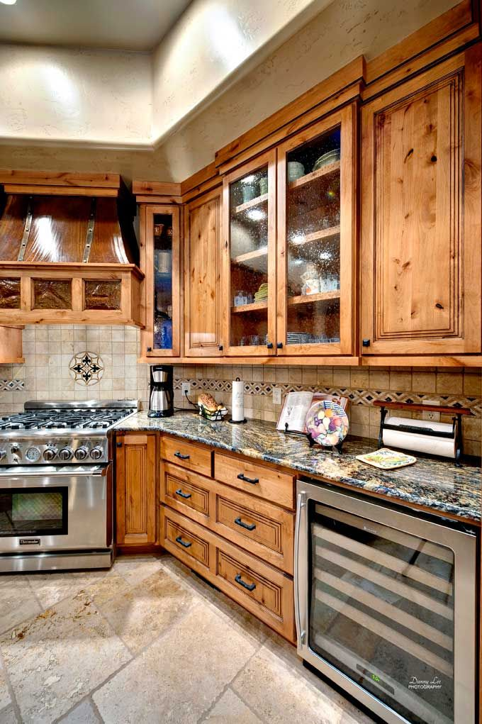 Kitchen Cabinets Knotty Alder design-craft cabinetry: wood finishes | knotty alder, appaloosa