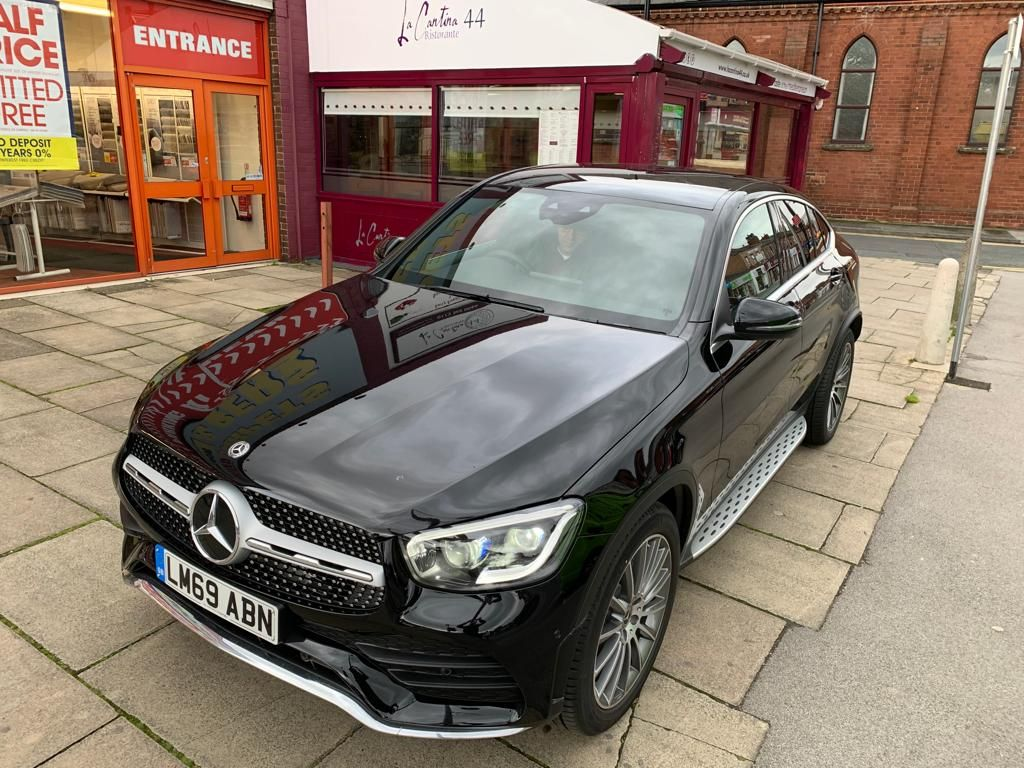The Mercedes Benz Glc Diesel Coupe Glc 300d 4matic Amg Line