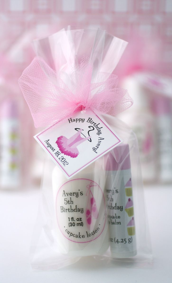 Birthday Party Lotion + Lip Balm Favors | Kids Spa Party | Pinterest ...