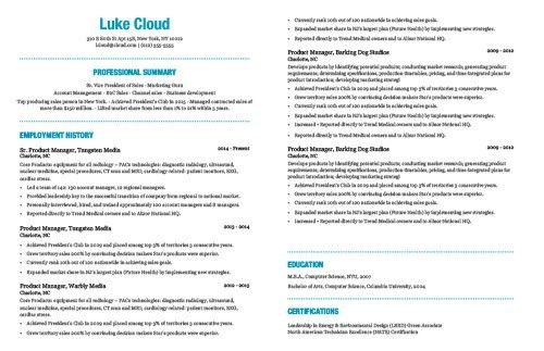 The Best Resume Template Based On My 15 Years Experience Sharing Resume Advice Best Resume Template Resume Advice Good Resume Examples