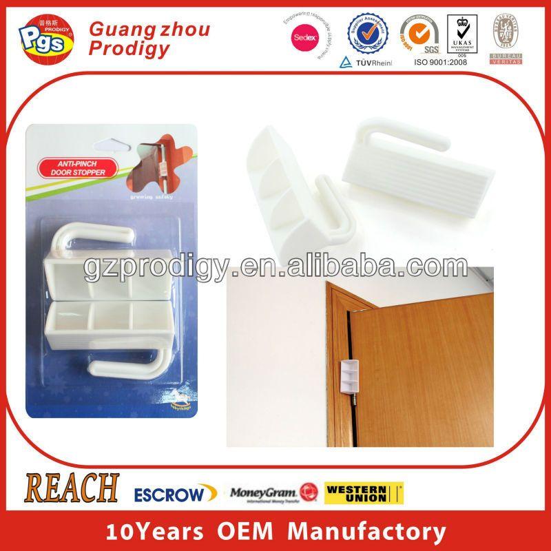 Door Hinge Wedge Plastic Door Guard Babysafety Finger Pinch Guard Of Door Wedge Child Proofing Doors Baby Safety Door Door Stopper