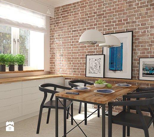 Półka Nad Stołem W Kuchni Kuchnia Table Furniture