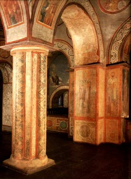 www.school.edu.ru :: Фрески Софийского собора в Киеве