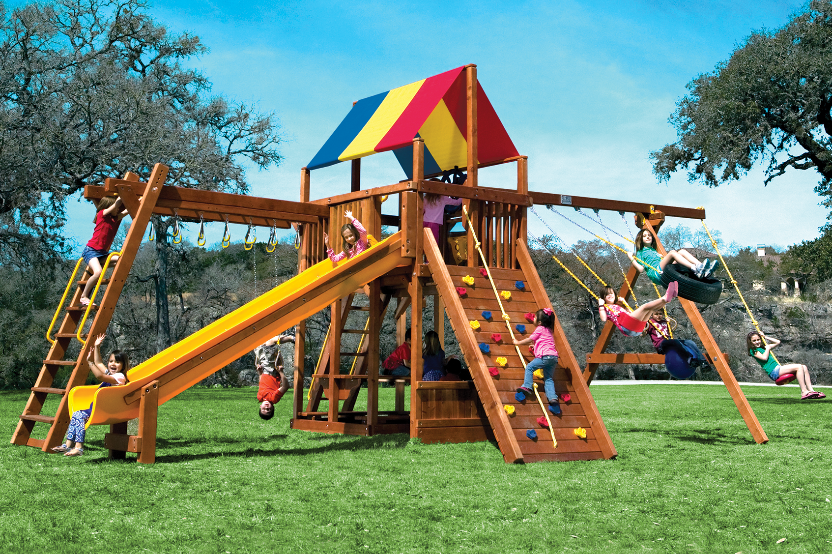 Rainbow Clubhouses PlaySets | Clubhouses and Climbing frames