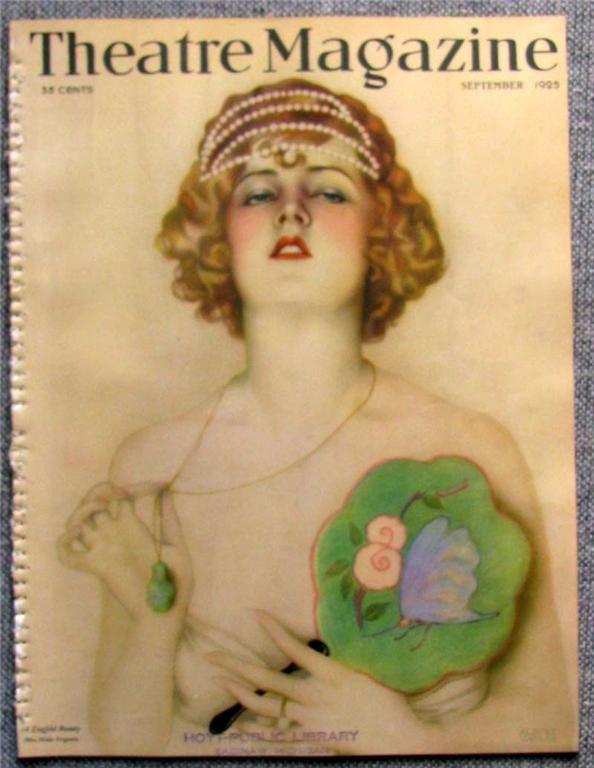 Alberto Vargas - Theatre - Sep 1925