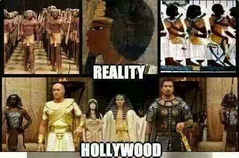 Hollywood, Notice how they throw in some of our Nubian people, but as servants. They still try to hide our Royal Lineage.
