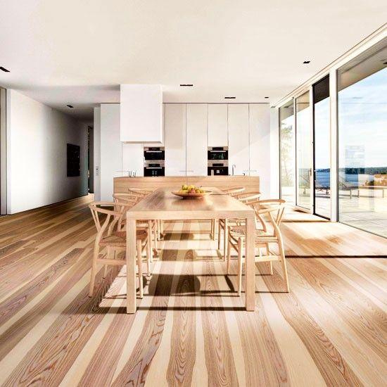 Wood flooring | Engineered wood floors, Wooden kitchen ...