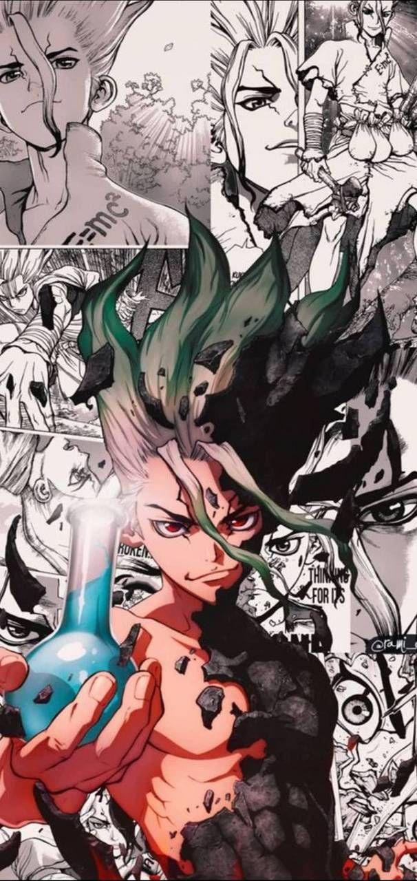 Senku-manga wallpaper by zent_u - 0b - Free on ZEDGE™
