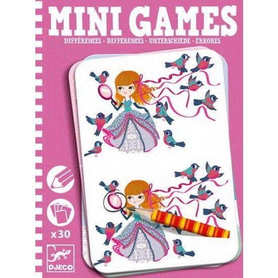 Djeco Mini Game, Zoek de Verschillen - Lea, DJ05307