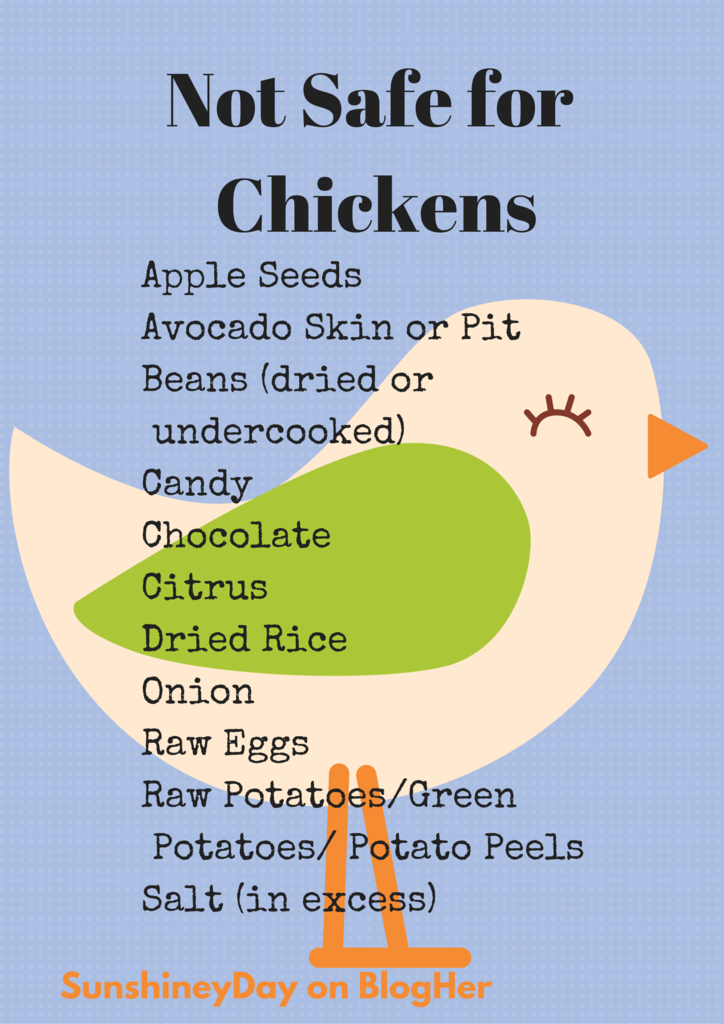 Foods Chickens Can T Eat