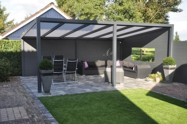 Hervorragend Aluminium - Terrassenüberdachung /-Carport - 6,00 m x 4,00 m Alu  CS28