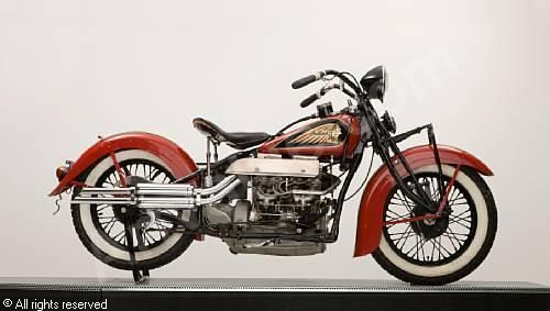 Indian Motorcycle 1936 Indian 1 265cc Model 436 Upside Down Four Indian Motorcycle Indian Motorbike Motorcycle