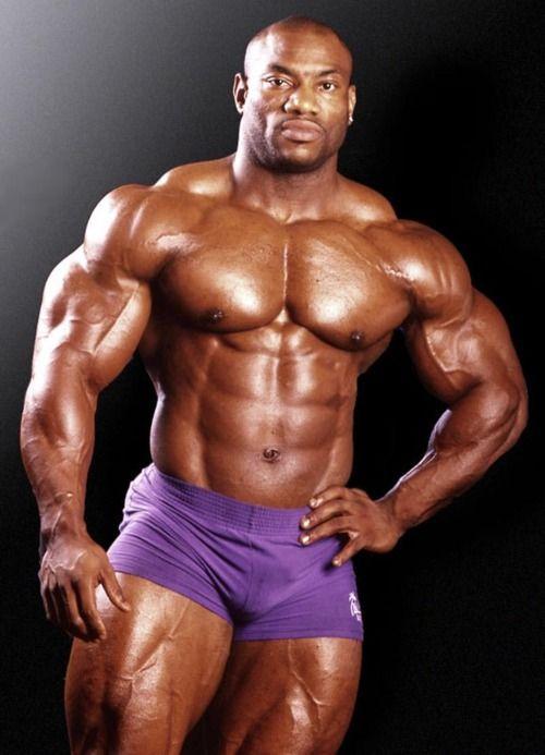 Black musclemen Nude Photos 48