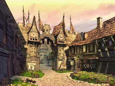 Alexandriamainstreet3 Png Fantasy Town Fantasy Landscape Fantasy City