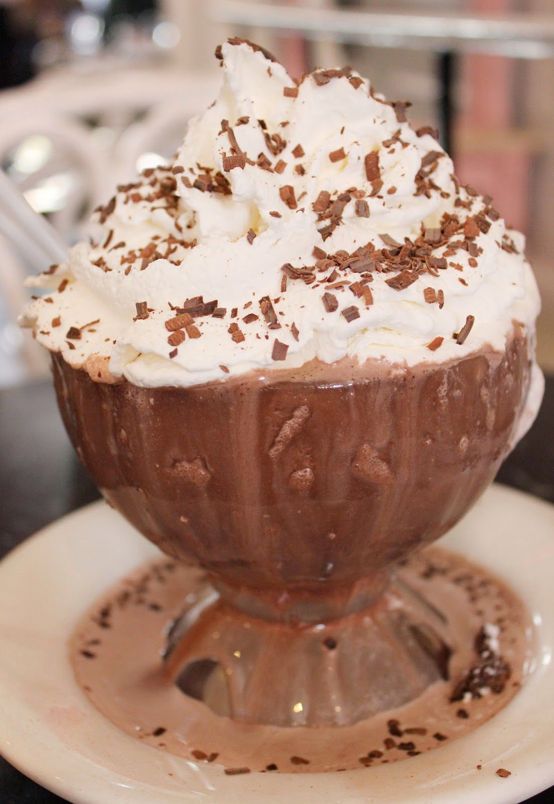 Frozen Hot Chocolate from Serendipity 3 - a must do