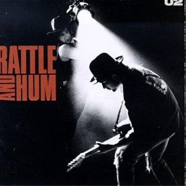 U2 Rattle And Hum Import Vinyl Lp Rattle And Hum Greatest Album Covers Album Covers