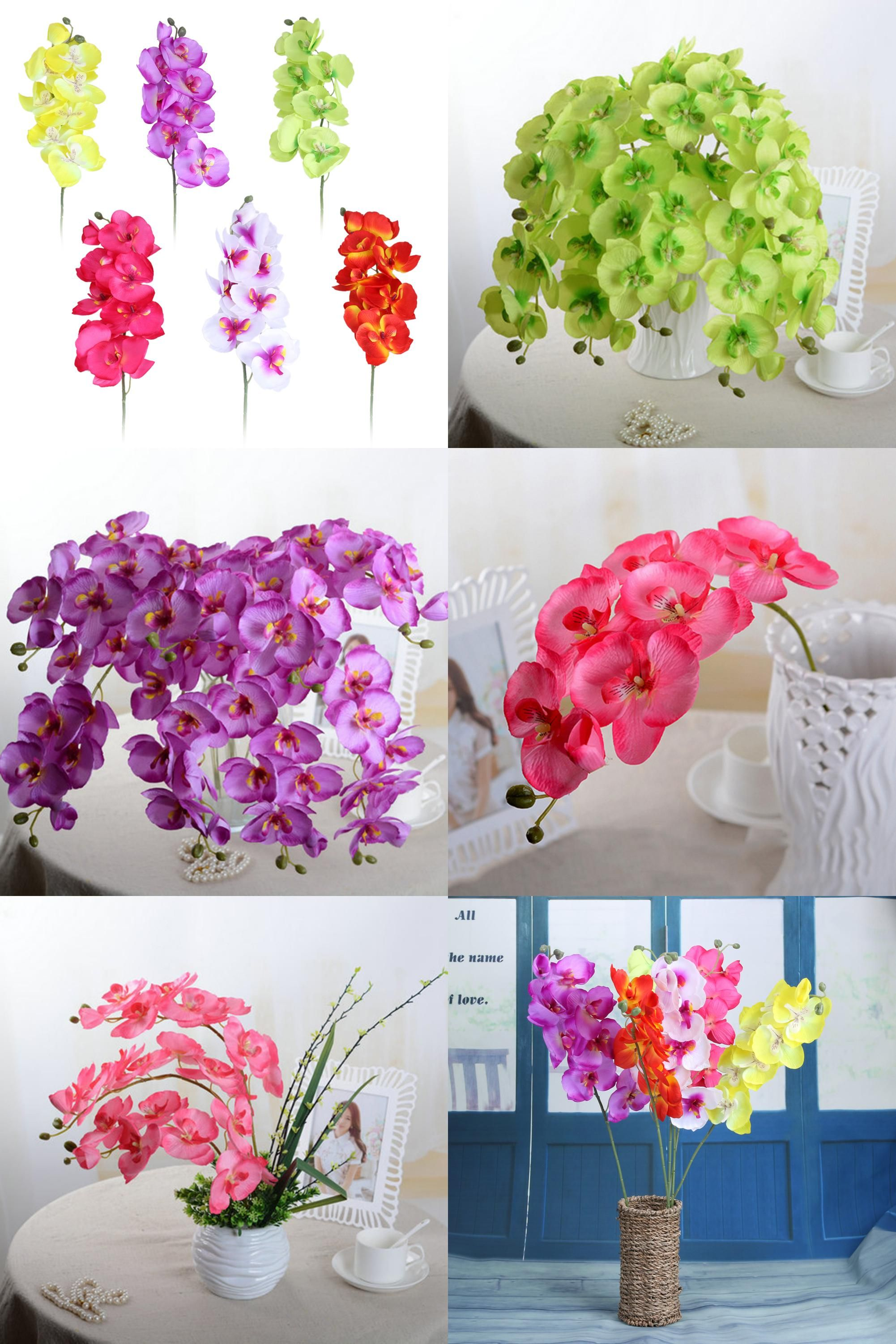 Visit To Buy Artificial Flower Diy Plastic Artificial Butterfly