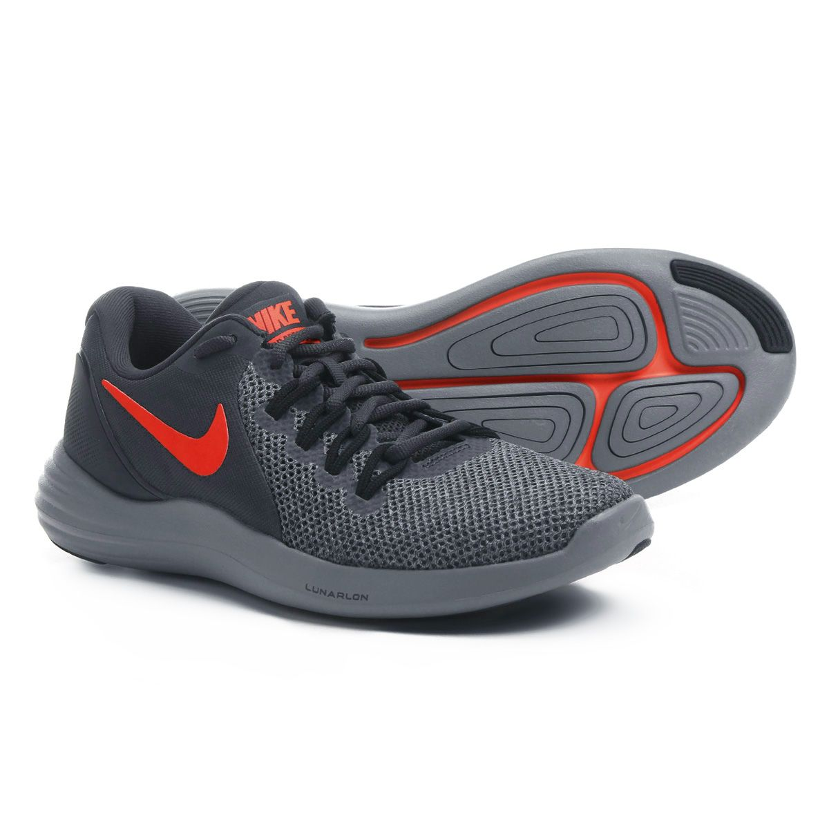Tênis Nike Lunar Apparent Masculino - Preto e Vermelho