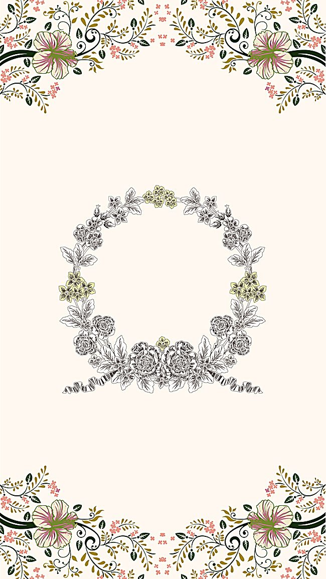 Millions Of Png Images Backgrounds And Vectors For Free Download Pngtree Wedding Invitation Background Fresh Wedding Flowers Invitation Background