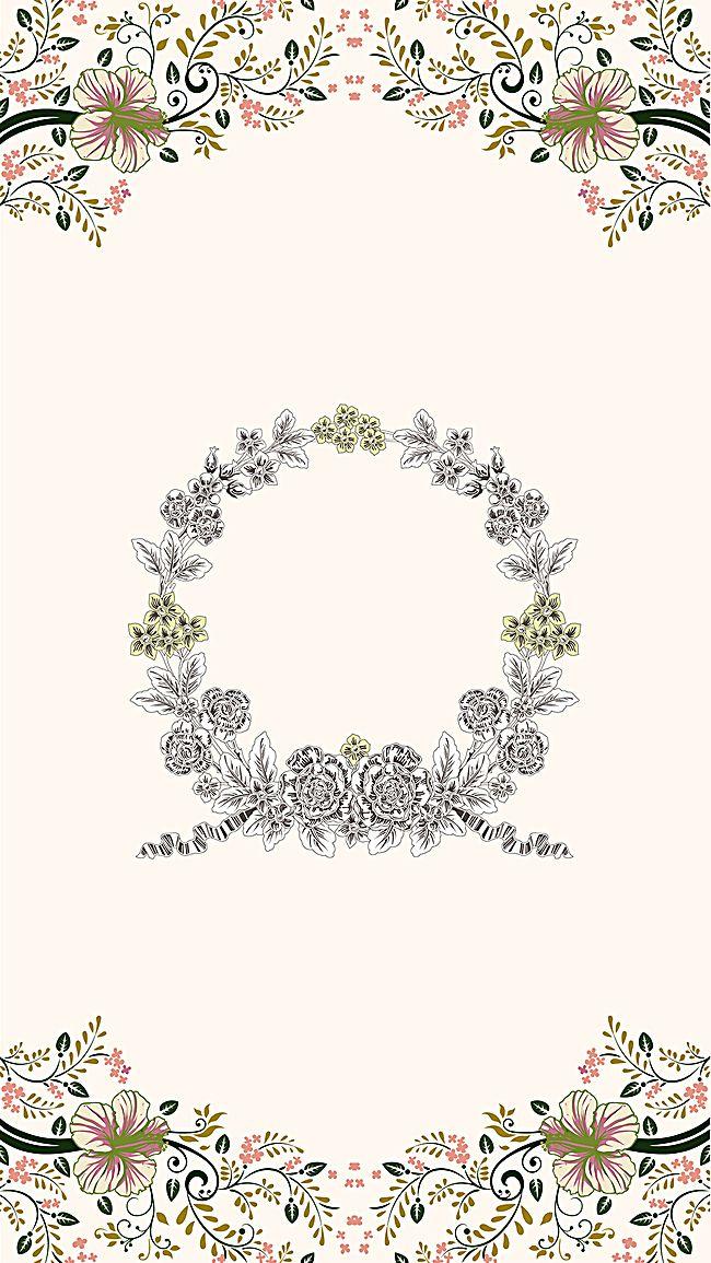 WeddingWeddingSimpleInvitation CardSmall FreshFlowersH5h5Literature And Art